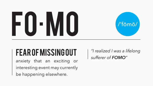 Image result for FOMO